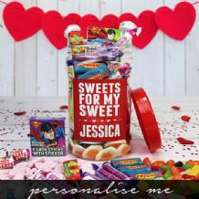 Sweets for my Sweet - Personalised Sweetie Jar (Medium)